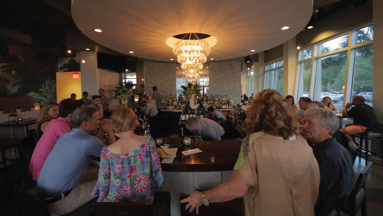 great happy hour at Surfing Deer Seagrove Beach FL