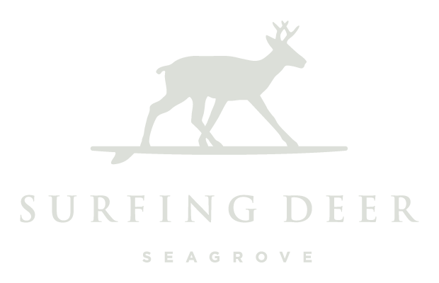 Surfing Deer Restaurant on 30a Seagrove FL on the beach