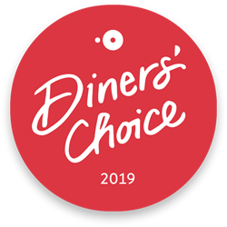 Diners Choice award winner 2019 Seagrove Beach FL